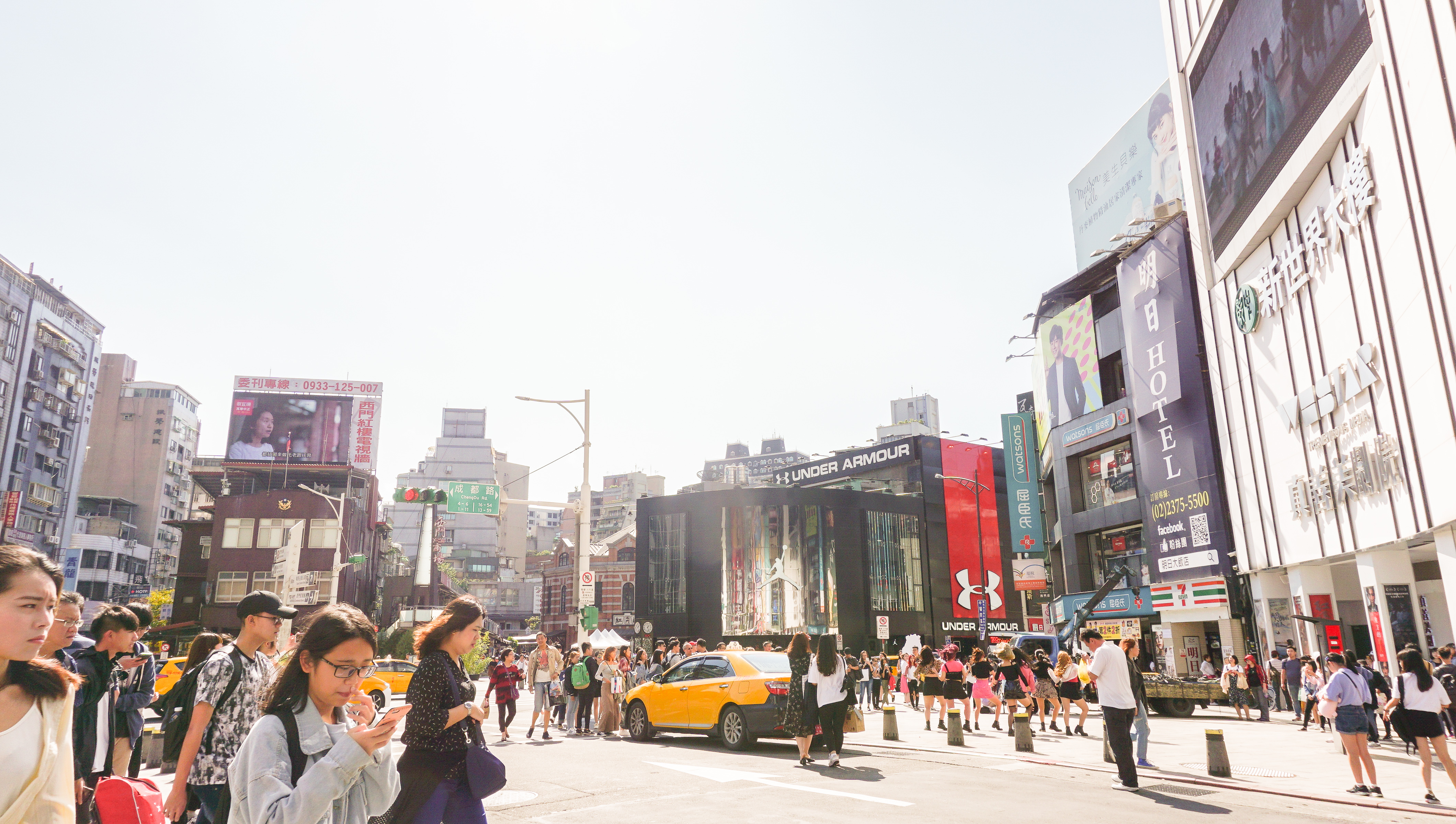 taiwan budget itinerary, ximenting area, ximending area